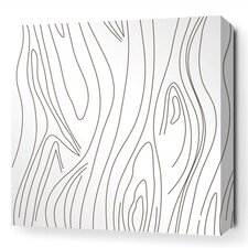 Madera Stretched Graphic Art on Wrapped Canvas in White