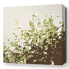 Botanicals Foliage Stretched Graphic Art on Wrapped Canvas in Green