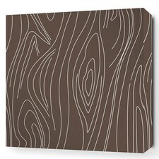 Madera Stretched Graphic Art on Wrapped Canvas in Brown