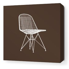 Modern Classics 1951 Stretched Graphic Art on Wrapped Canvas in Brown