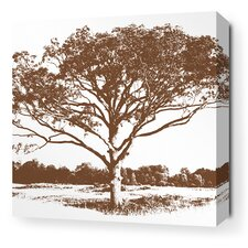 Morning Glory Tree Stretched Graphic Art on Wrapped Canvas