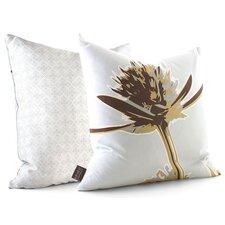 Botanicals Propeller Suede Throw Pillow