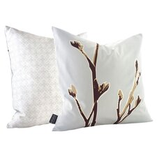 Botanicals Axis Suede Throw Pillow