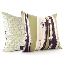 Botanicals Bamboo Suede Throw Pillow