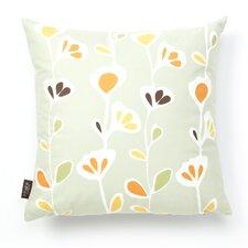 Aequorea Rhythm Stencil Throw Pillow