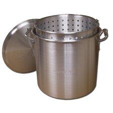King Kooker #KK60-60 Qt. Aluminum Pot with Basket and Lid
