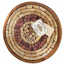 Round Wine Cork Board Kit Bulletin Board