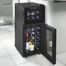 Silent Series 21 Bottle Dual Zone Built-In Wine Refrigerator