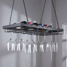 8 Bottle Hanging Wine Rack