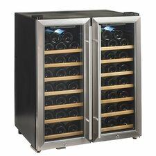 Silent Series 48 Bottle Dual Zone Free-Standing Wine Refrigerator