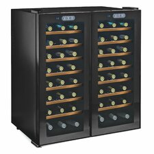 Silent Series 48 Bottle Dual Zone Wine Refrigerator