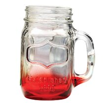Hand Mason Jar (Set of 4)