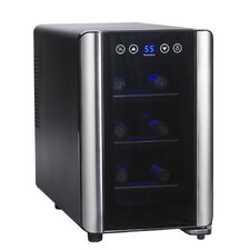 Silent 6 Bottle Single Zone Wine Refrigerator