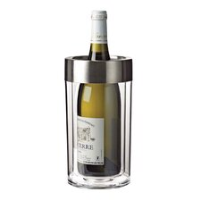 Double Walled Iceless Wine Bottle Chiller (Set of 2)