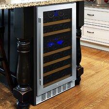 N'finity Pro 29 Bottle Dual Zone Built-In Wine Refrigerator