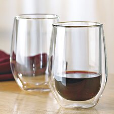 Steady-Temp Double Wall Cabernet Stemless Wine Glass (Set of 4)