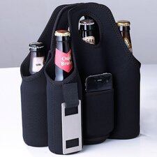 Neoprene 6 Bottle Tabletop Beer Carrier