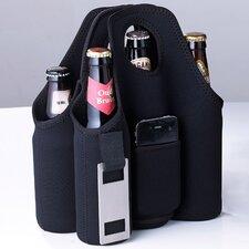 Neoprene 6 Bottle Tabletop Beer Carrier