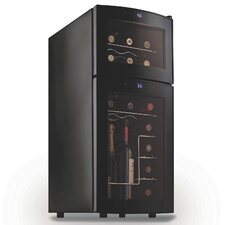 21 Bottle Dual Zone Wine Refrigerator