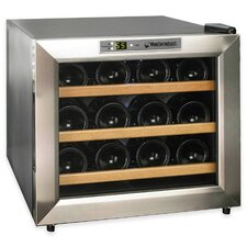 Silent Series 12 Bottle Single Zone Free-Standing Wine Refrigerator