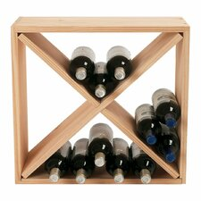 Stackable Cube 24 Bottle Tabletop Wine Rack