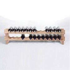 26 Bottle Tabletop Wine Rack