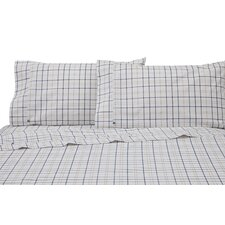 Windowpane Plaid Pillowcase Pair (Set of 2)