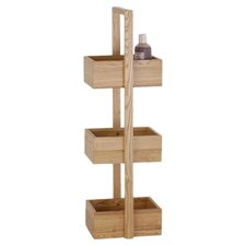 Mezza Wood Free Standing Shower Caddy