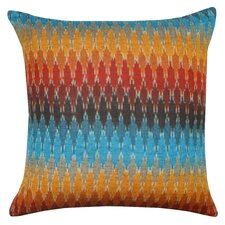 Rainbow Cotton Throw Pillow