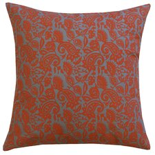 Petite Paisley Cotton Throw Pillow