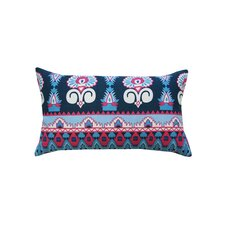 Temple Cotton Lumbar Pillow