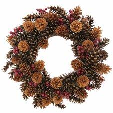 Pinecone Lodge Wreath
