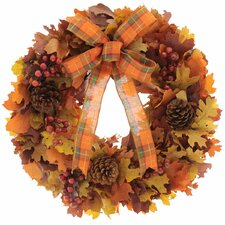 "Harvest Festival 16"" Wreath"