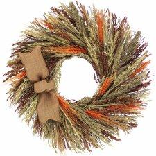 Harvest Grains Wreath