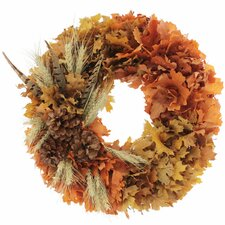 Fall Pheasant Wreath