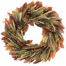 Plymouth Harvest Wreath