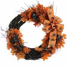 "Super Spooky Halloween 18"" Wreath"
