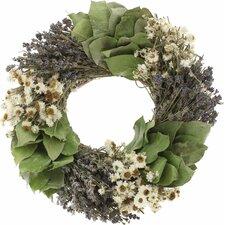 Lavender Swirl Wreath