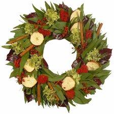 Cinnamon Apple and Spice Wreath