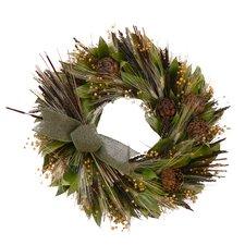 Caramel And Sage Harvest Wreath