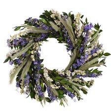 Lavender Farm Wreath