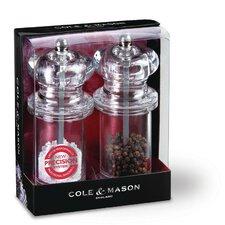 2 Piece Salt and Pepper Grinder Set