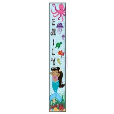 Mermaid Girl Growth Chart