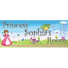 Princess Girl Name Wall Decal