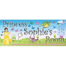 Princess Fantasy Name Wall Decal