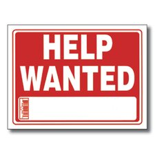 Help Wanted Sign (Set of 24)