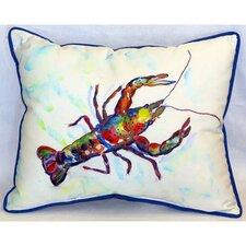 """Crayfish 24"""" Indoor/Outdoor Lumbar Pillow"""