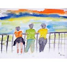 Ladies Looking Painting Print