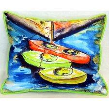 """Kayaks 24"""" Indoor/Outdoor Lumbar Pillow"""