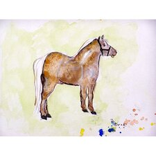 'Shetland Pony' by Betsy Drake Painting Print on Canvas